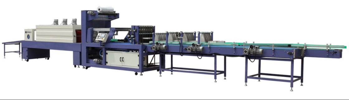 Conveying Automatic Shrink Packing Machine / Shrink Wrap Packaging Machine